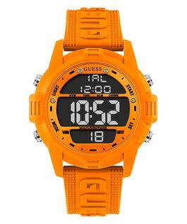 Orange Case Orange Silicone Watch  large