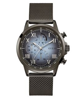 Gunmetal Case Gunmetal Stainless Steel/Mesh Watch  large