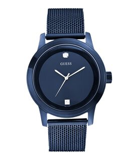 Blue Case Blue Stainless Steel/Mesh Watch  large