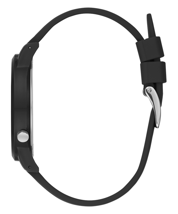 Originals Black Case Black Silicone Watch  large