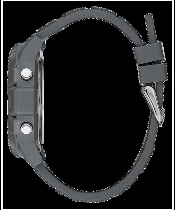 Gunmetal Case Gunmetal Silicone Watch  large