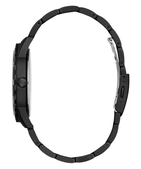 Black Case Black Stainless Steel Watch  large