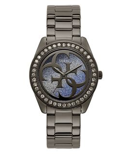 Gunmetal Case Gunmetal Stainless Steel Watch  large