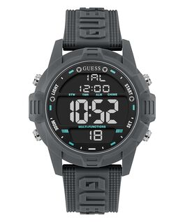 Gunmetal Case Gunmetal Silicone Watch  large