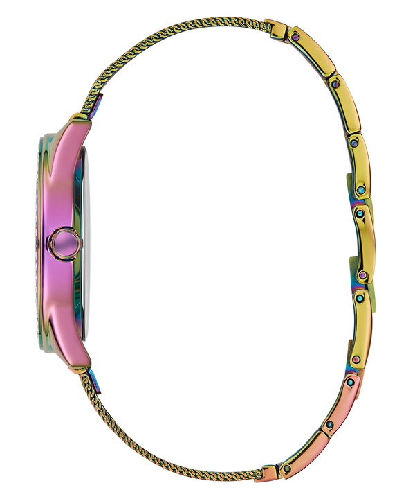Purple Case Purple Stainless Steel/Mesh Watch  large