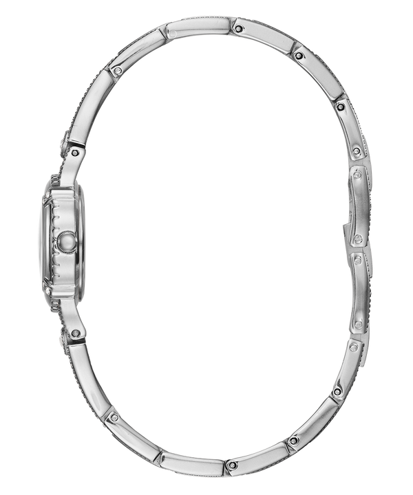 Silver Tone Case Silver Tone Brass Watch  large